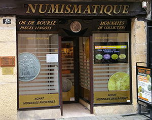 Saive Numismatique magasin