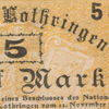 Banknotes of Alsace-Lorraine