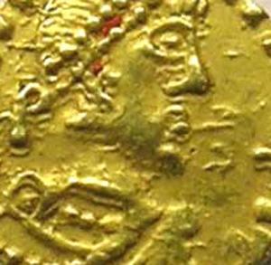 Merovingian coins