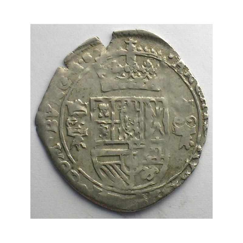 1/16 Patagon   Philippe IV (1621-1665)   1624   Dôle    TTB