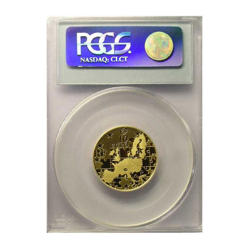 10 €   2004   or    PCGS-PR68DCAM    BE