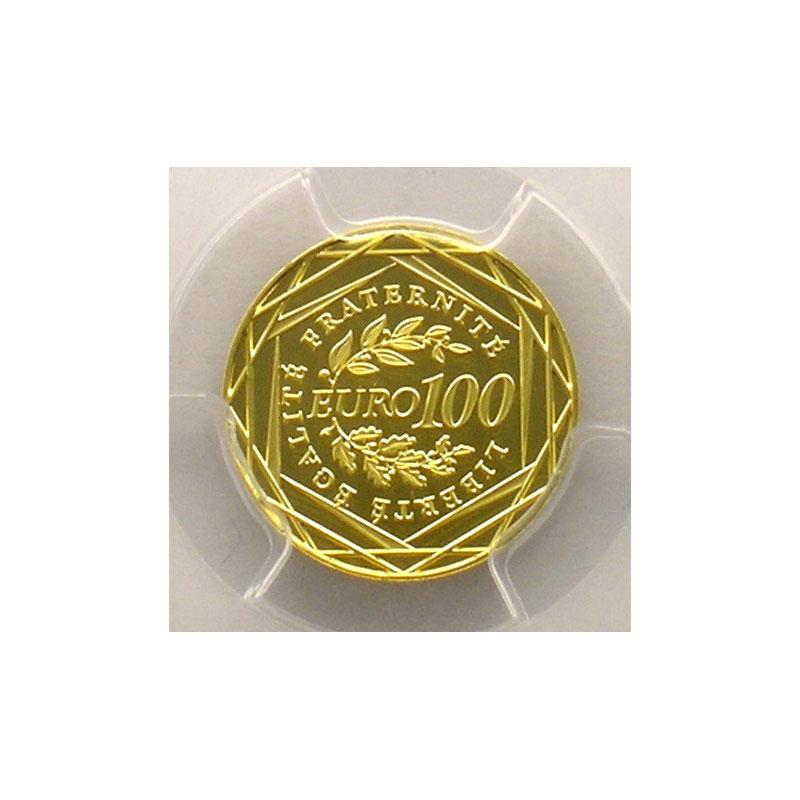100 €   2009    PCGS-MS70    BE
