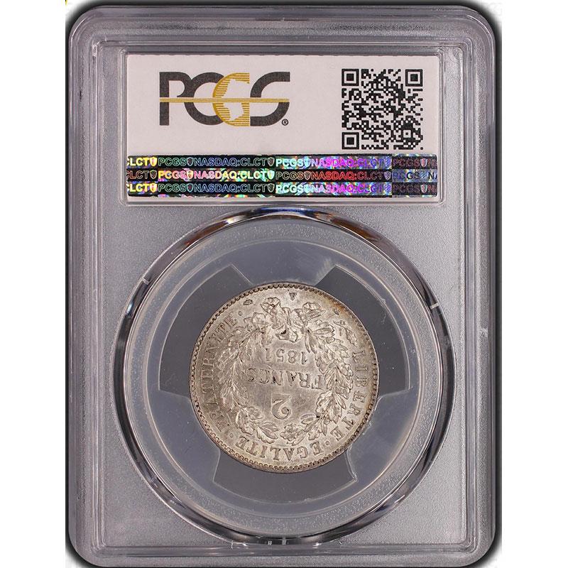 1851 A  (Paris)    PCGS-AU58    SUP