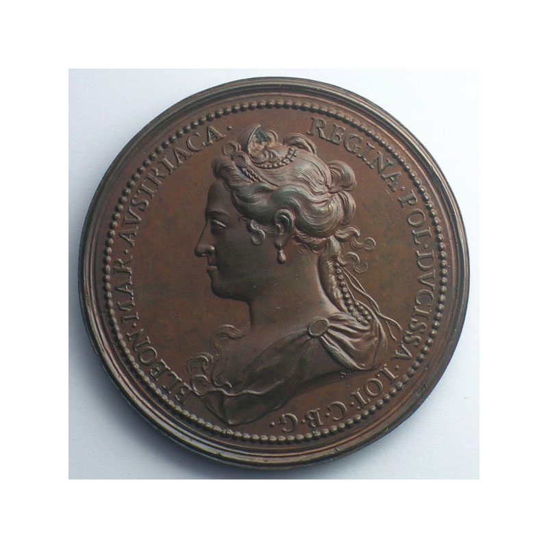 Charles V   bronze   47 mm    SUP