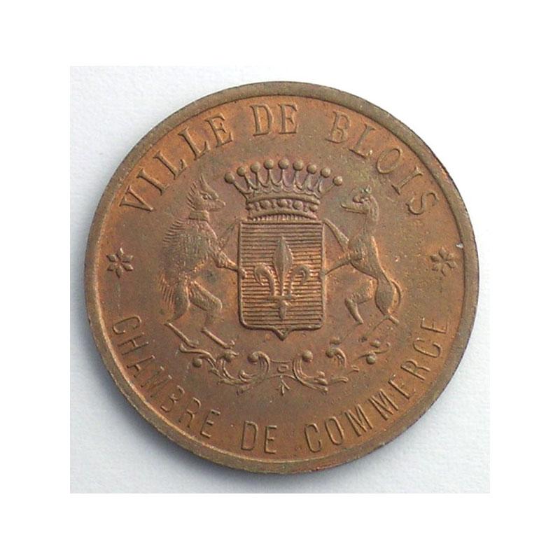 Blois 41 chambre de commerce elie 10 4 20 c 1918 cu r 26 5 mm essai sup fdc - Chambre du commerce blois ...