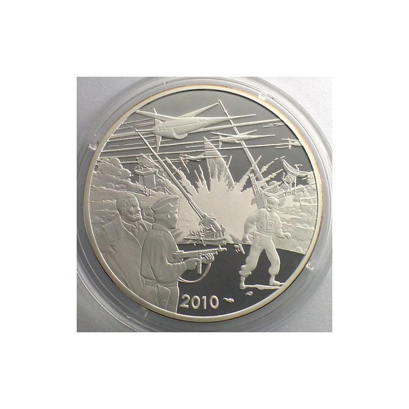 10 €   Les aventures de Blake et Mortimer   2010   37mm   22,2 g - Ag 900 mill.    BE