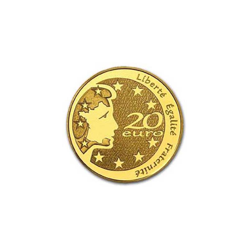 20 €   2004   Marianne   or  1/2 oz     BE