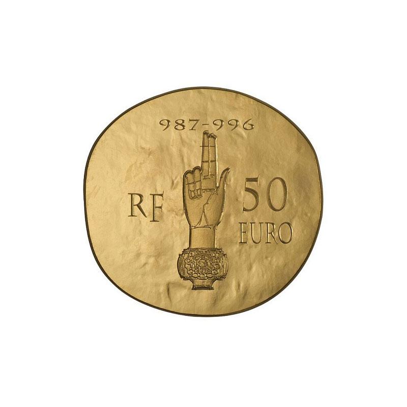 50 euro   Hugues Capet   2012    BE
