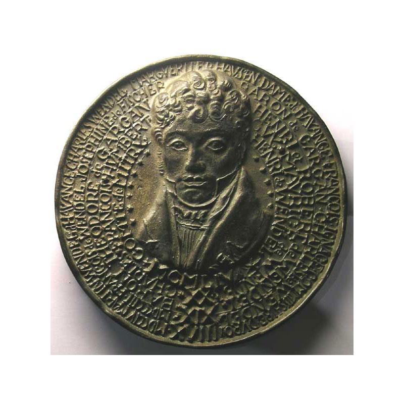 Hayange   Ans De La Maison De Wendel   Medaille En Fonte Mm