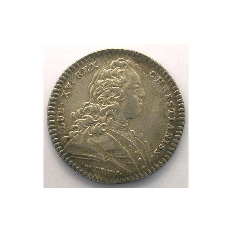 Jetons de l 39 ancien r gime jetons royaux normandie jeton rond en argent chambre de commerce de - Chambre de commerce normandie ...