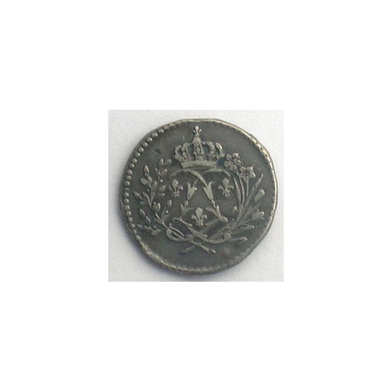 Médaillette en argent  13mm    TTB