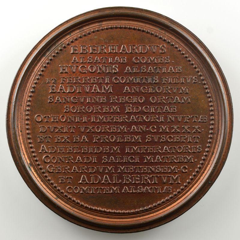 Ferdinand de Saint-Urbain   Médaille en bronze  48mm   Eberhard  (variété cartouche vide effacé)    SUP/FDC