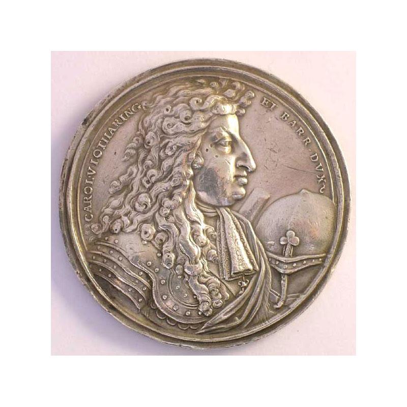 Médaille en argent   54mm    TTB+