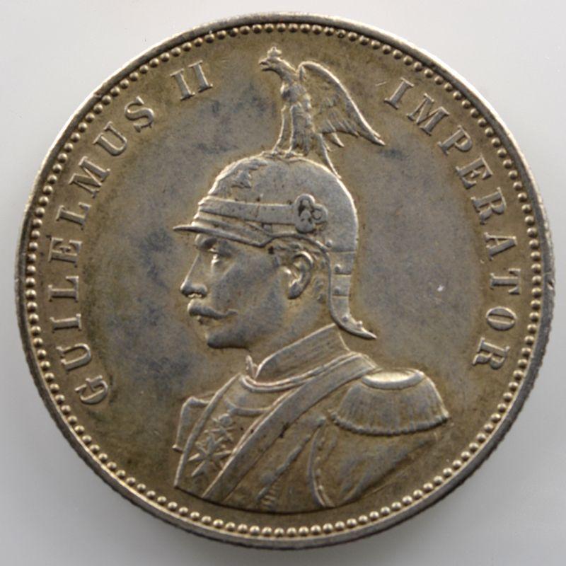 1 Rupie   Guilelmus II Imperator   1905 J    TTB+/SUP