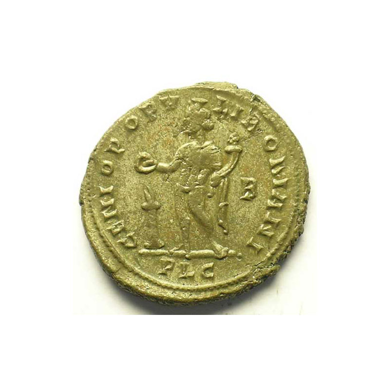 R/ GENIO POPVLI ROMANI   (Lyon/Lugdunum 301-303)    TTB