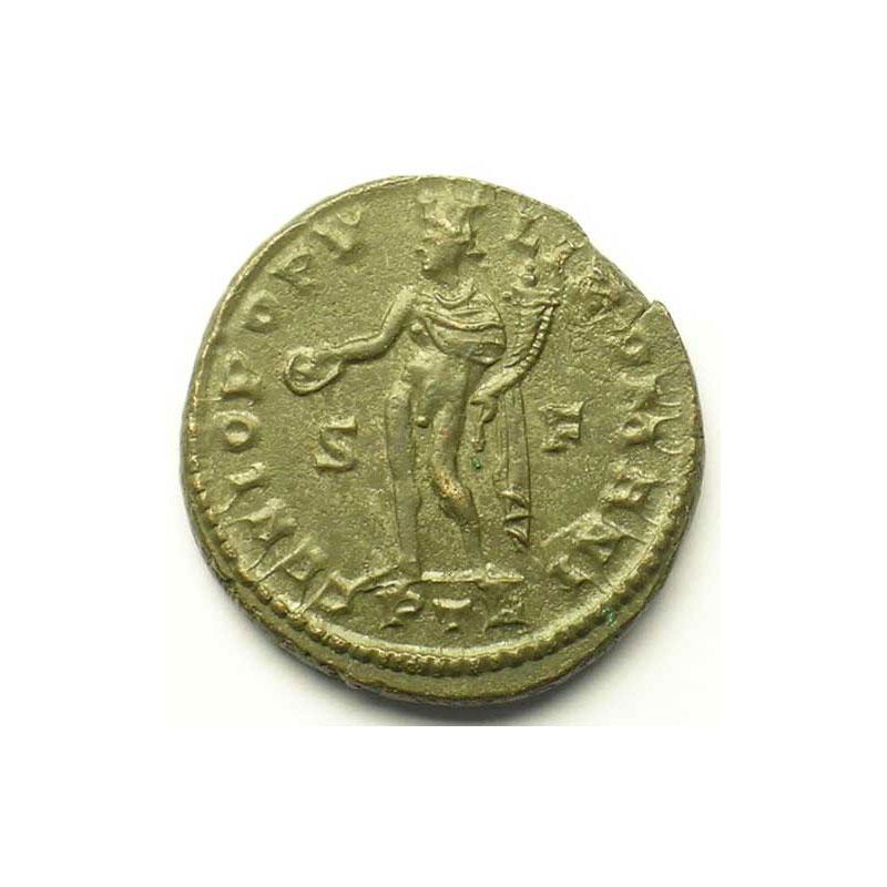 R/ GENIO POPVLI ROMANI   (Trèves/Trier 303-305)    TTB