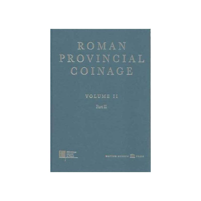 RPC   Roman Provincial Coinage  tome II (de Vespasien à Domitien)