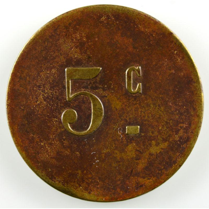 Lec.186a   5 c   Lt, R   21mm    TTB