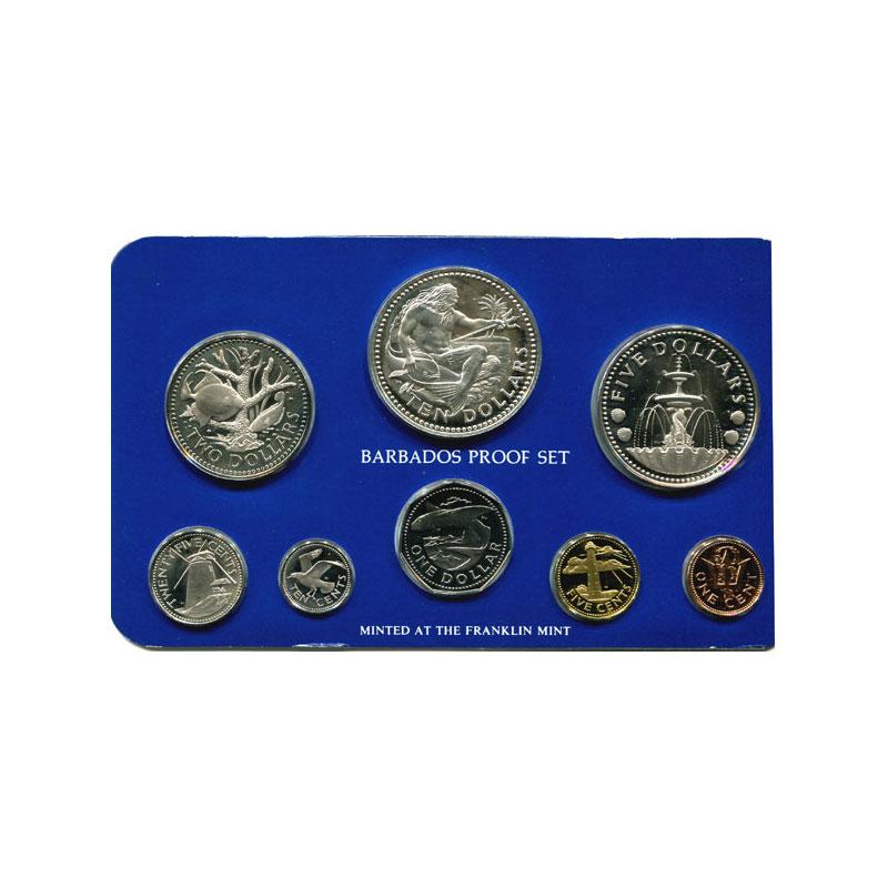 coffret de 8 pièces dont 2 en argent  Proof Set   1978    PROOF