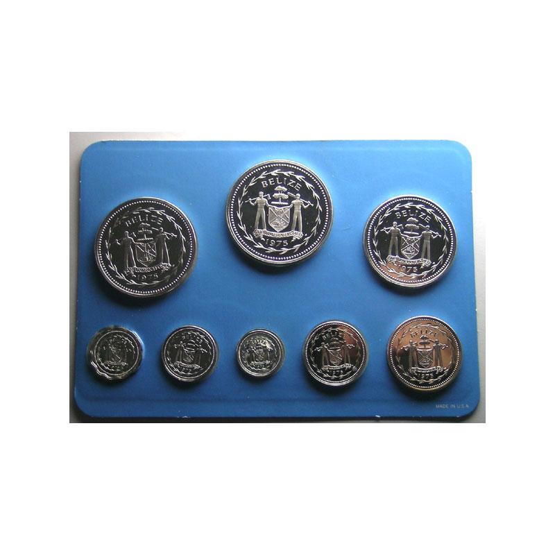coffret de 8 pièces en argent  Collector's Solid Sterling Silver Proof Set   1975    PROOF