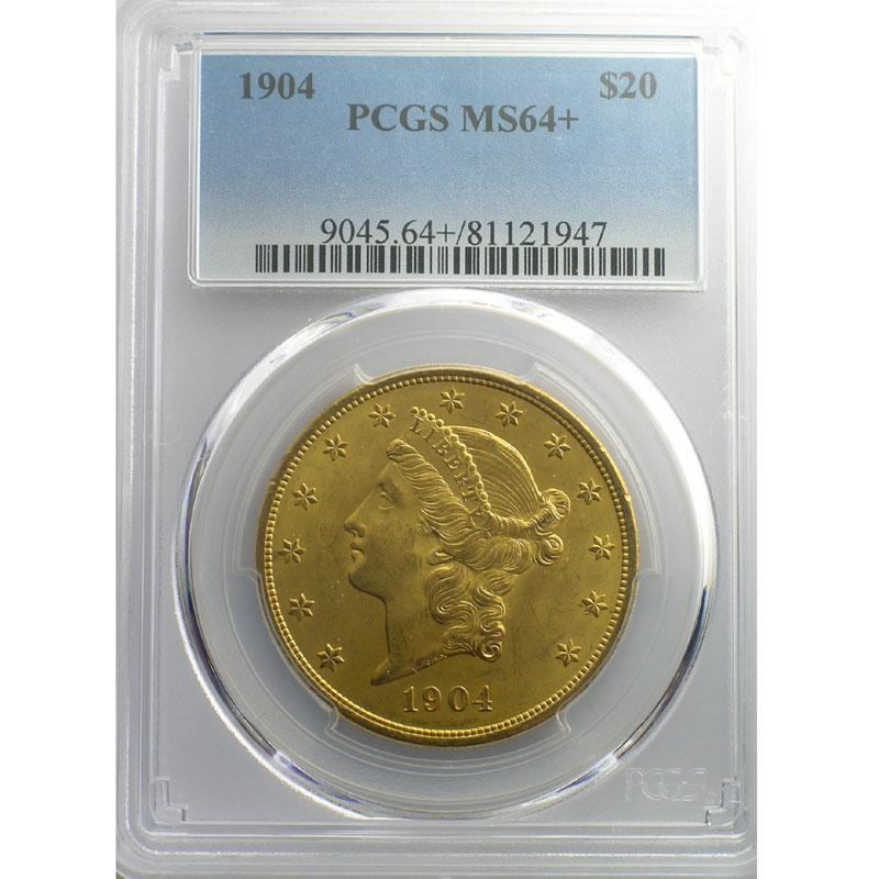 Twenty Dollars   1904 (Philadelphie)    PCGS-MS64+    pr.FDC