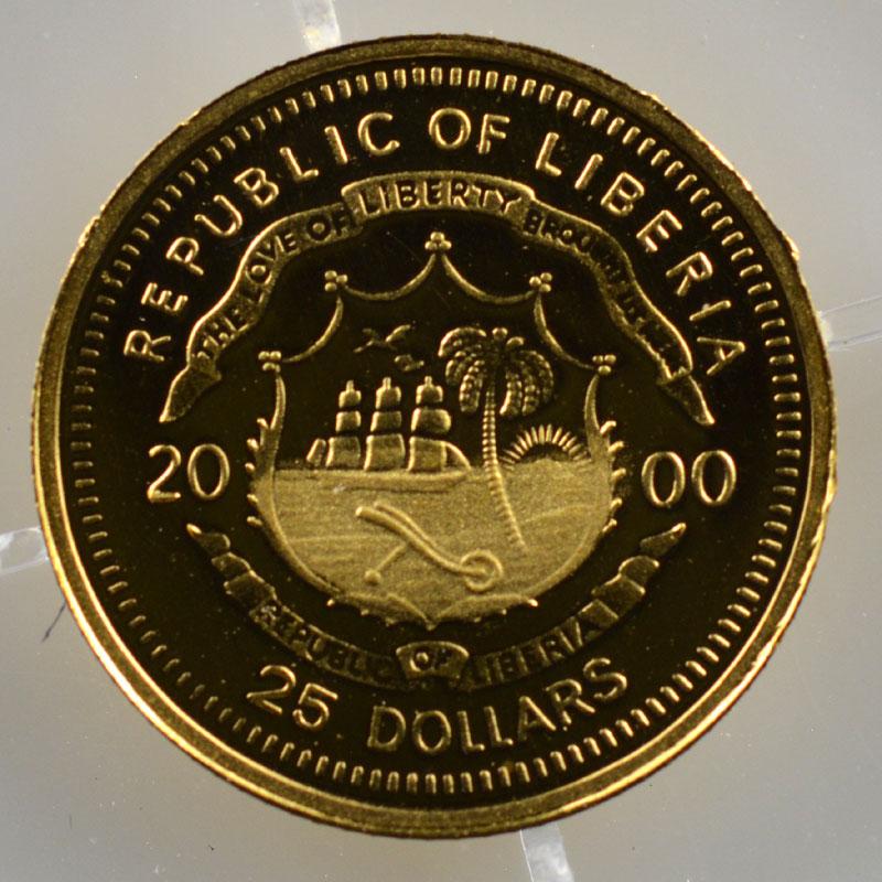 25 Dollars   2000   Ludwig II (Louis II de Bavière)    BE