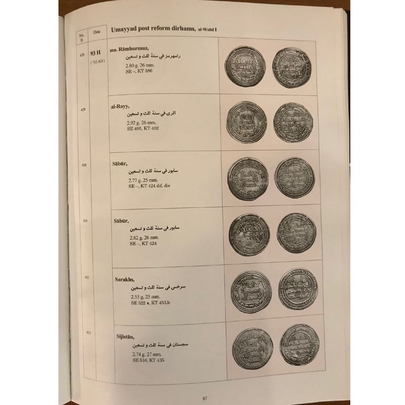SHAMS ESHRAGH A.   Silver coinage of the Caliphs