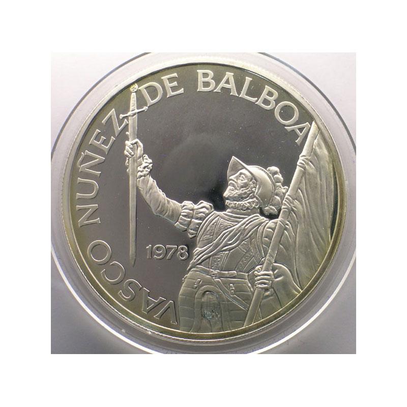 20 Balboas   Vasco Nunez de Balboa   1978    BE