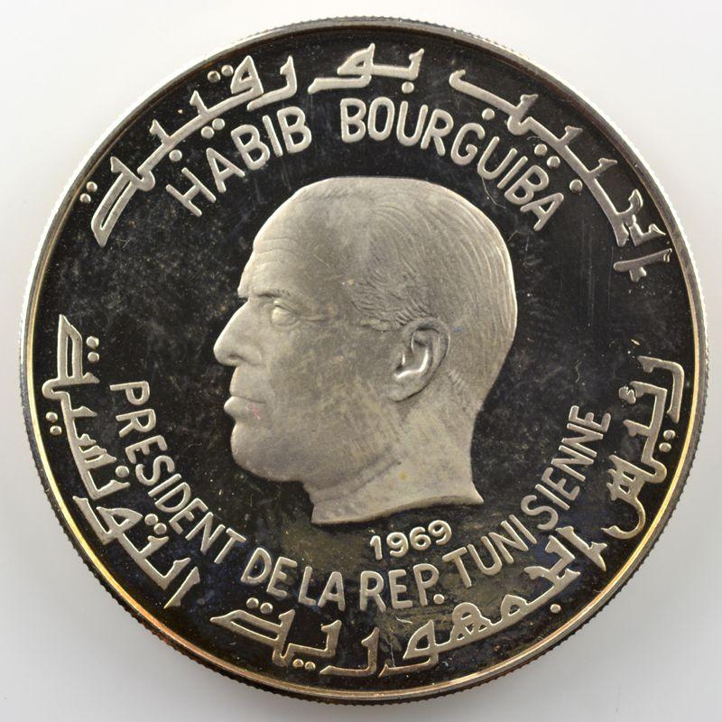 Dinar   1969   Masinissa    SUP/FDC