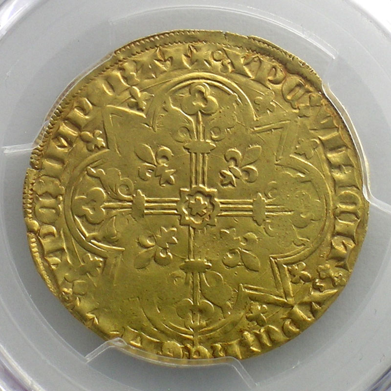 Mouton d'or (Vilvorde)    TTB+    PCGS-Genuine UNC Detail cleaned