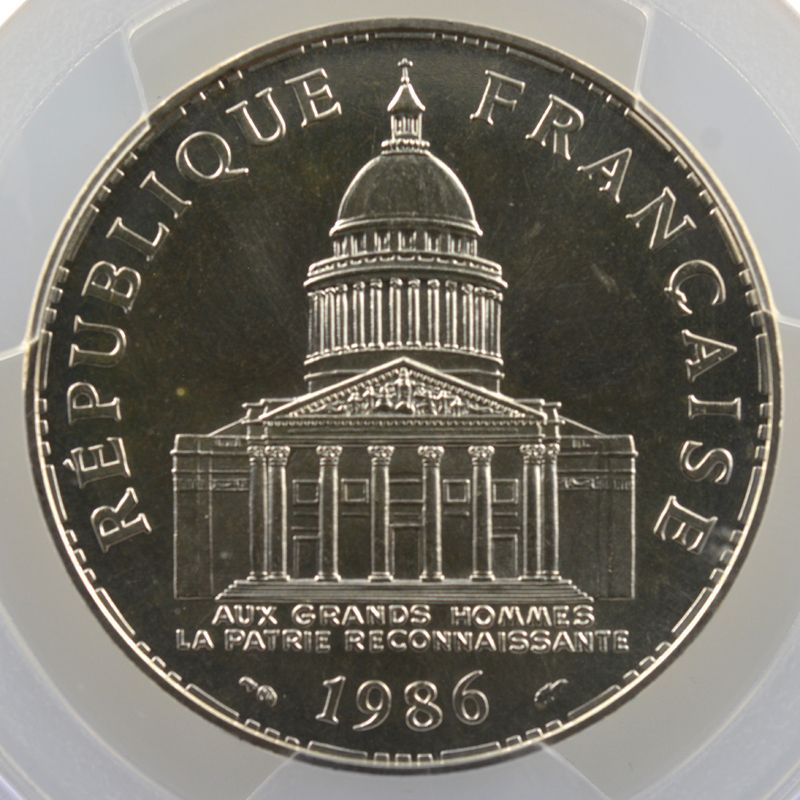 1986    PCGS-MS69    FDC exceptionnel