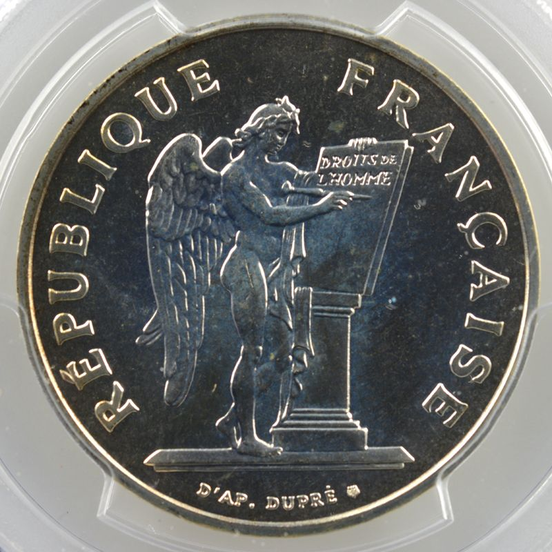 1989    PCGS-SP67    FDC exeptionnel