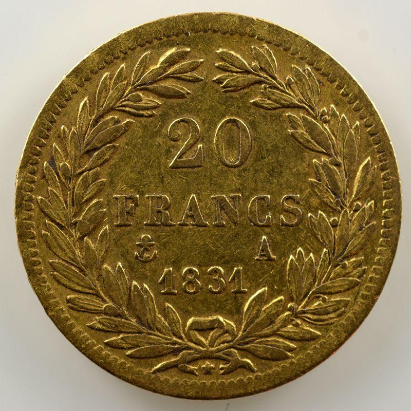 1831 A  (Paris)    TB+/TTB
