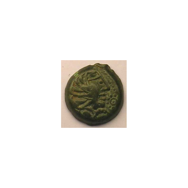 Bronze YLLVCCI à la rosace    TB+/TTB
