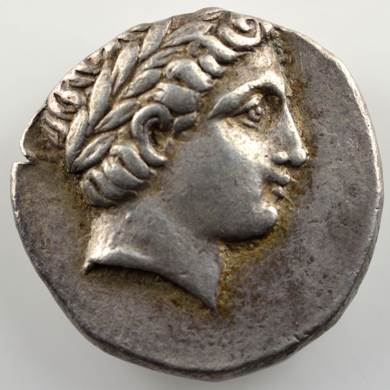 Tétradrachme   Patraos (335-315 av. JC)    TTB