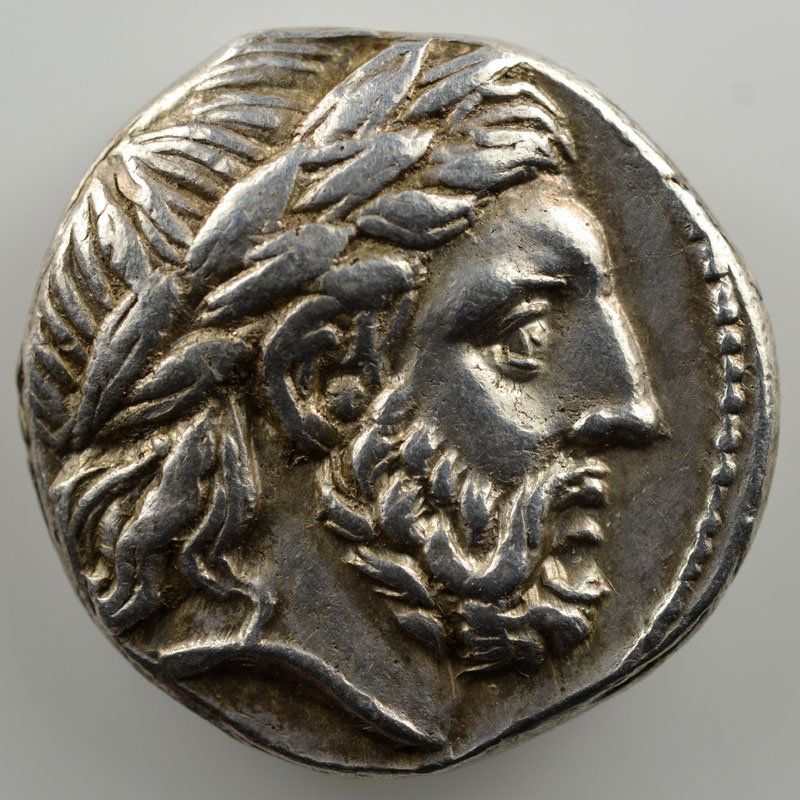 Tétradrachme au type de Philippe II   Amphipolis (323-317)    TTB+