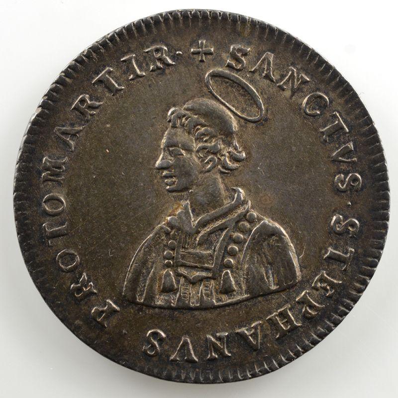 Jeton rond en argent   Siège vacant de 1697    TTB+/SUP