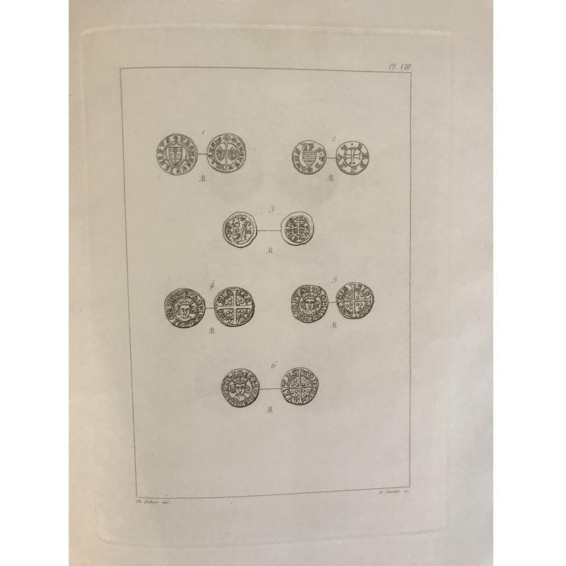 Robert   Recherches sur les Monnaies des Evêques de Toul