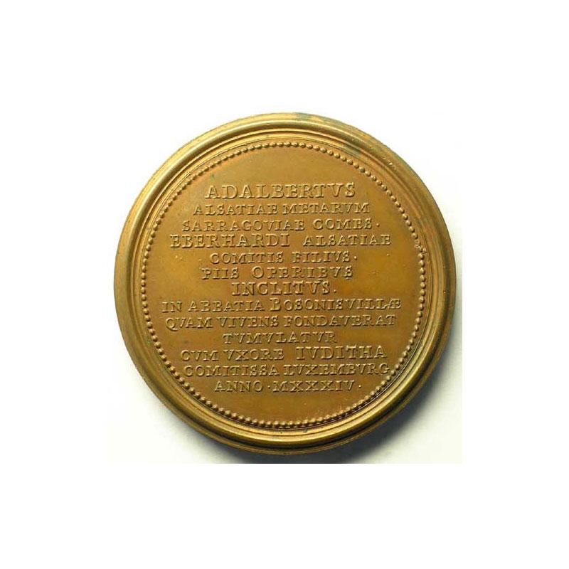 Adalbert   bronze   47,5 mm    TTB+/SUP