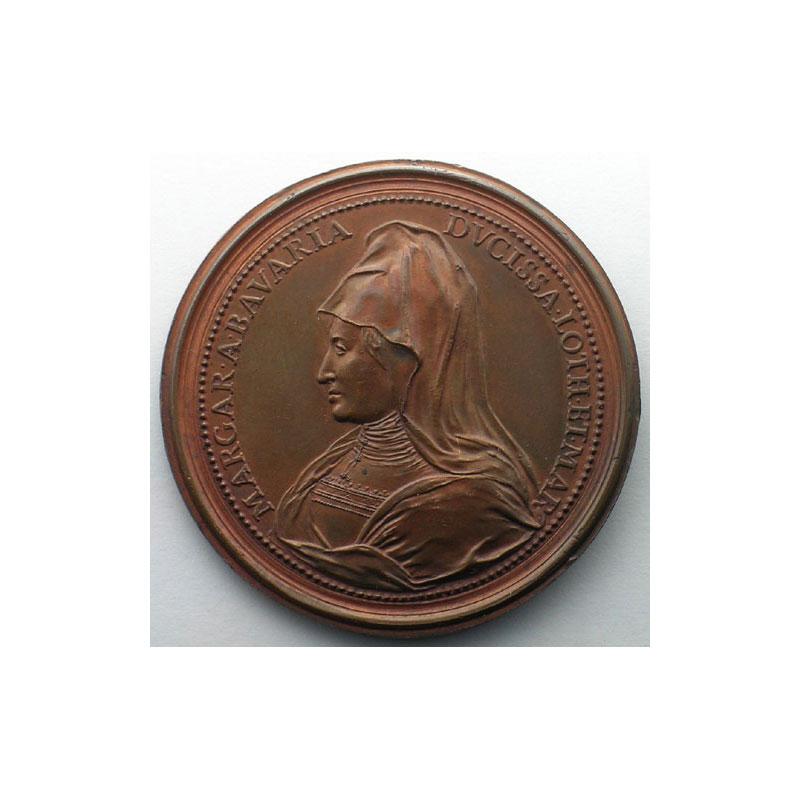 Charles II   bronze   47 mm    TTB+/SUP