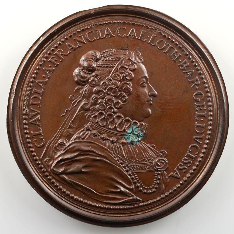 Charles III   bronze   47 mm    SUP