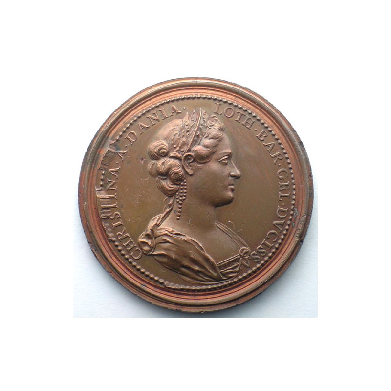 François I   bronze   47 mm    TTB+/SUP