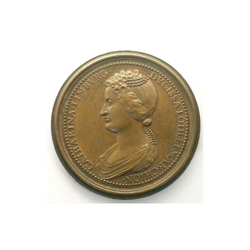 Mathieu II   bronze   47 mm    TTB+