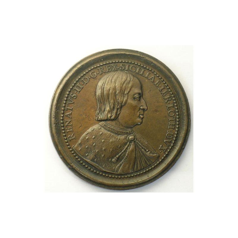 René II   bronze   47,5 mm    TTB