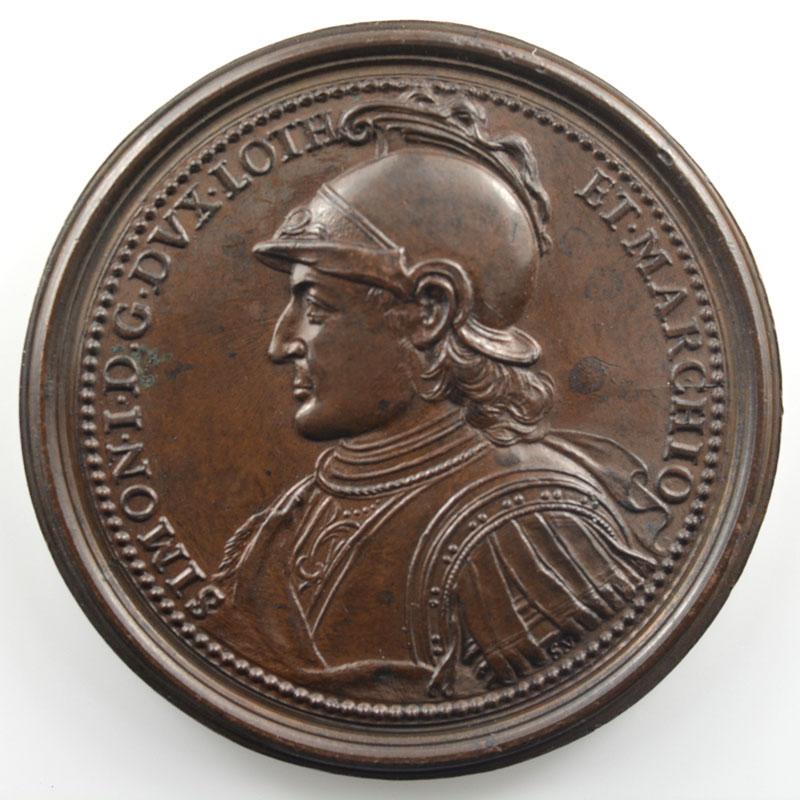 Simon I   bronze   47 mm    TTB+