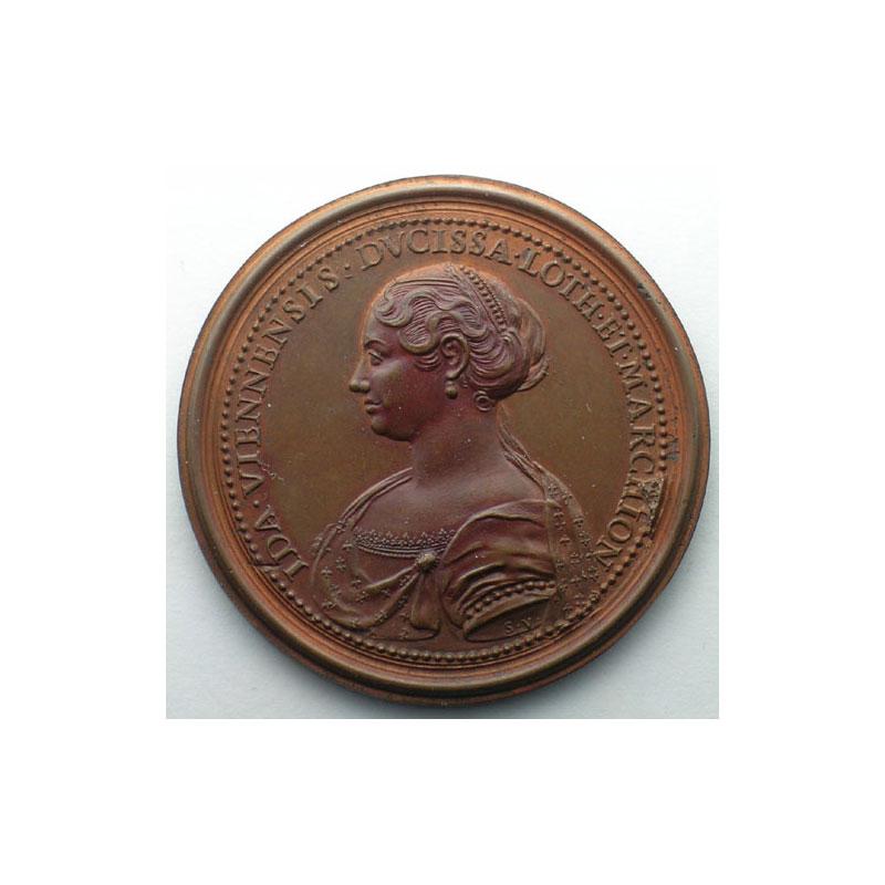 Simon II   bronze   47 mm    TTB+/SUP
