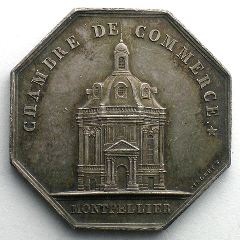 Numismatique du commerce et de l 39 artisanat chambre de for Chambre de commerce de montpellier