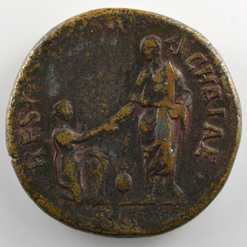 R/ RESTITVTORI ACHAIAE SC   (Rome 136)    TB