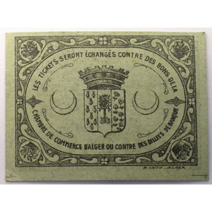0,05 Fr   5-10-1916   carton    NEUF