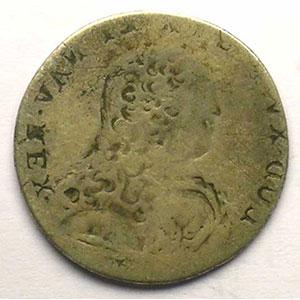 1/10 Ecu aux branches d'olivier   Louis XV (1715-1774)    B/TB